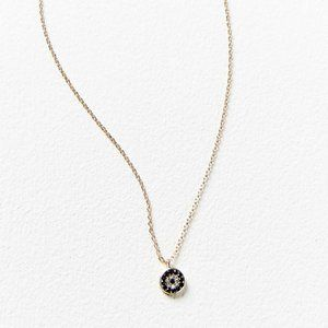 Urban Outfitters Rhinestone Evil Eye Necklace